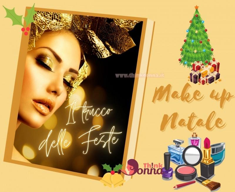 makeup natale il trucco delle feste di fine anno oro
