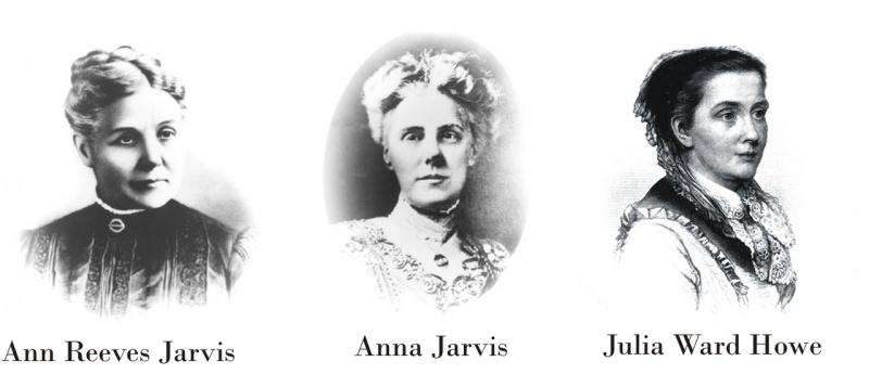 Storia e origini della festa della mamma mother's day ann reeves jarvis anna jarvis julia ward howe ritratto