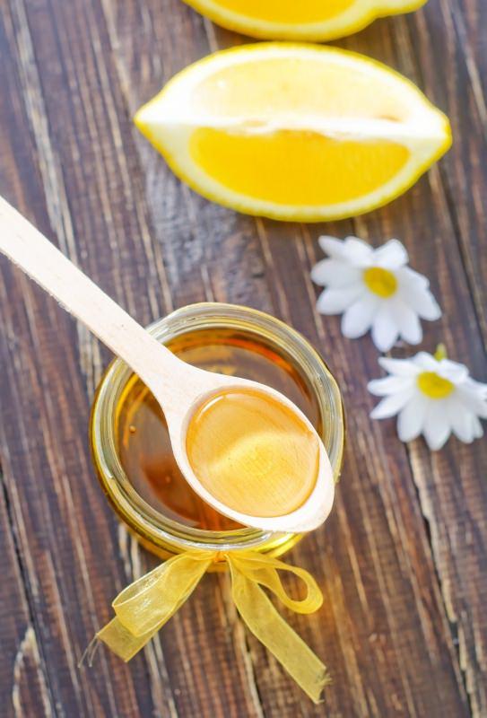 miele limone barattolo vetro cucchiaio margherita fiore