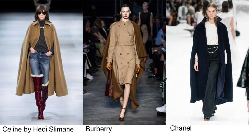 Celine by Hedi Slimane moda donna Burberry fashion Chanel autunno inverno
