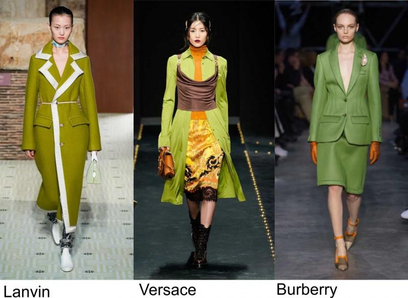 Lanvin moda donna Versace fashion Burberry autunno inverno