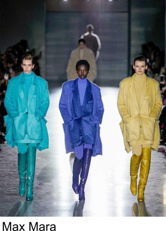 Max Mara colori moda donna fashion autunno inverno