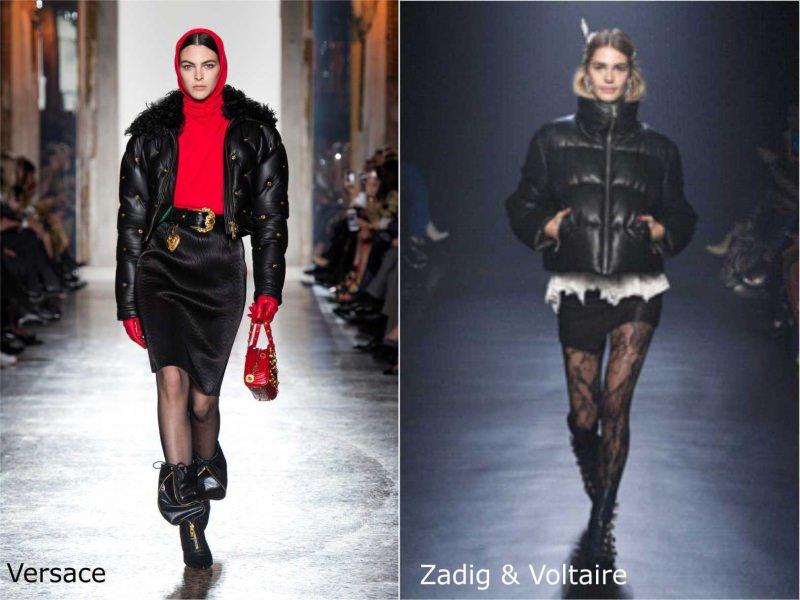 Moda donna cosa comprare per rinnovare il guardaroba autunno inverno 2018 2019 bomber nero Versace borsa rossa shorts calze stivali Zadid & Voltaire