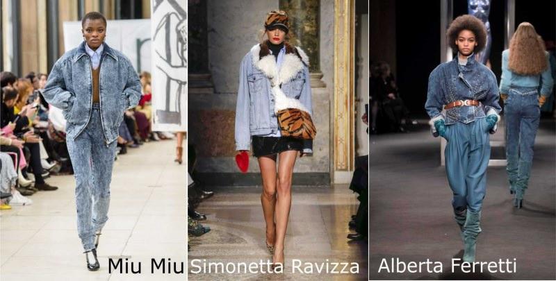 Moda donna cosa comprare per rinnovare il guardaroba autunno inverno giubbotto jeans denim Miu Miu con pelliccia Simonetta Ravizza cappello borsa animalier trigrato stivali Alberta Ferretti