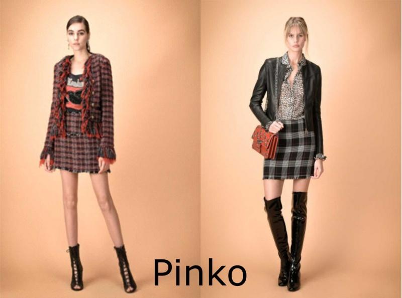 Moda donna cosa comprare per rinnovare il guardaroba autunno inverno capispalla completo giacca minigonna quadri Pinko gonna grigio nero giubbotto pelle