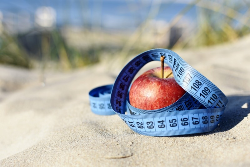 mela metro sarta sabbia mare dieta estate