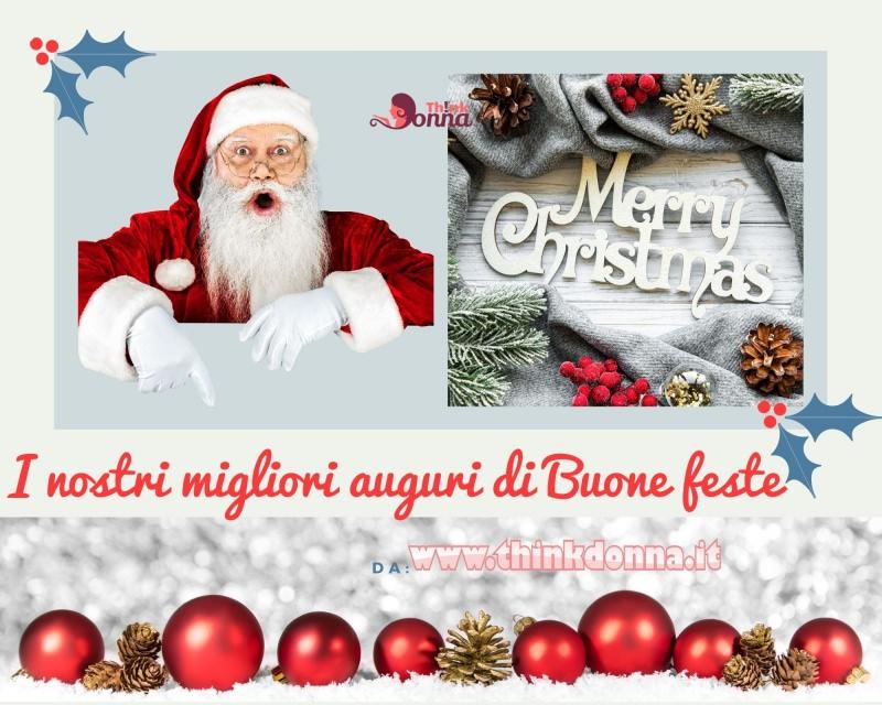 biglietto auguri Buon Natale