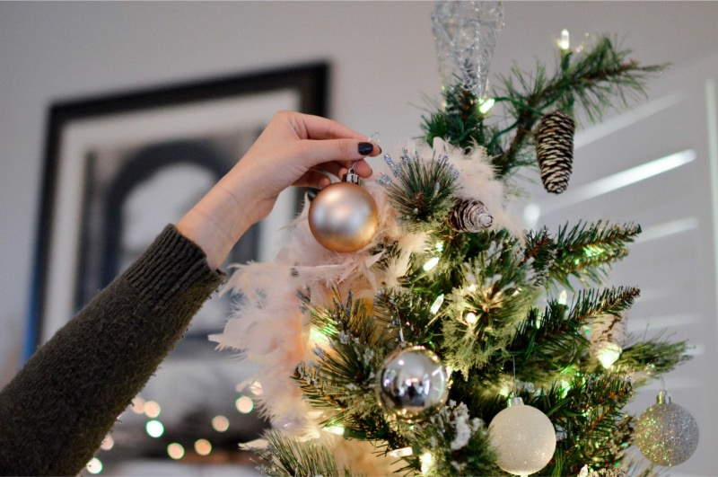 Natale decorazioni albero