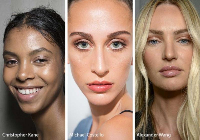 Come truccarsi la prossima primavera - estate modelle viso donna ombretto eye shadow champagne beige
