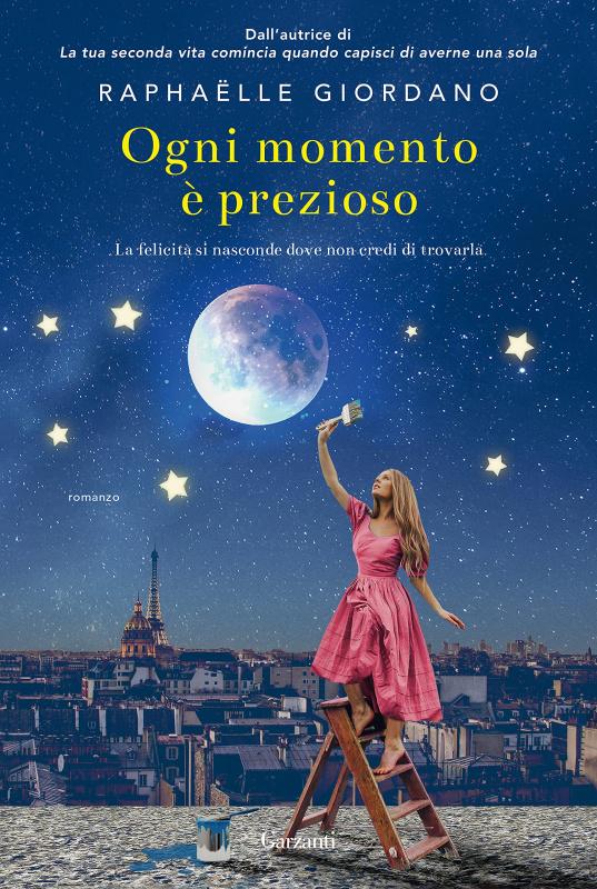 copertina libro ogni momento è prezioso di Raphaëlle Giordano