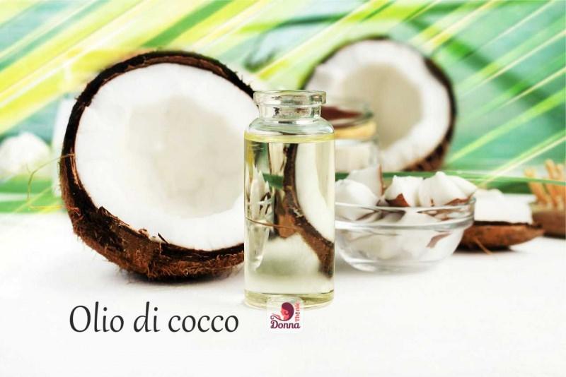 olio di cocco bottiglietta noce