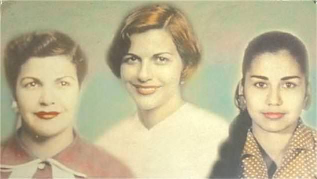 sorelle Mirabal Maria Argentina Minerva Antonia Maria Teresa Patria Mercedes assassinate il 25 novembre 1960