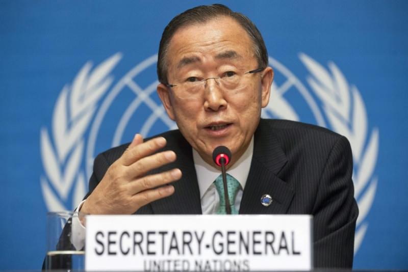 ban ki moon segretario generale delle nazioni unite