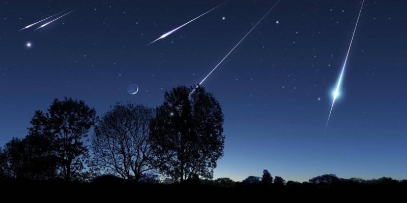 Orionidi, quando, dove e come vedere lo spettacolo del cielo stelle cadenti luna alberi campagna