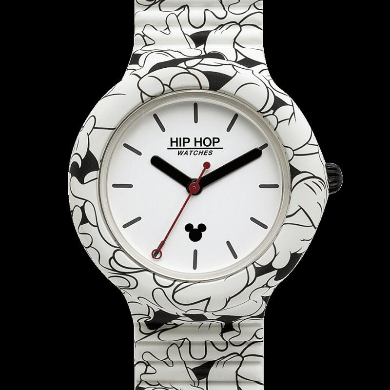 Official credits by Hip Hop Watches Quando la moda incontra i cartoni animati orologio Hip Hop Mickey Mouse