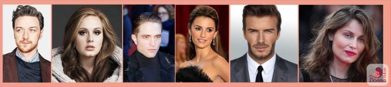 Oroscopo 2018 celebrità star nate sotto il segno del Toro James McAvoy, Adele, Robert Pattinson, Pénelope Cruz, David Beckham, Laetitia Casta