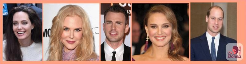 oroscopo 2018 quali star sono nate sotto il segno dei gemelli Angelina Jolie, Nicole Kidman, Chris Evans, Natalie Portman, il Principe William