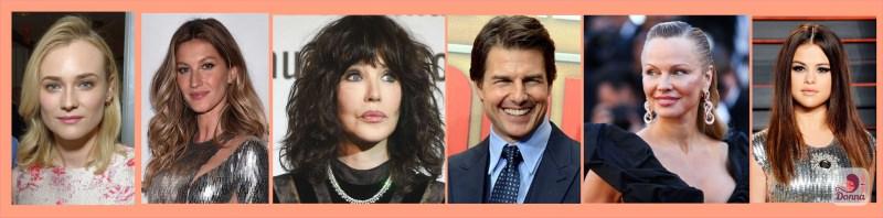 Oroscopo 2018 star celebrità nati sotto il segno del cancro : Selena Gomez, Diane Kruger, Isabelle Adjani, Pamela Anderson, Tom Cruise, Gisele Bündchen