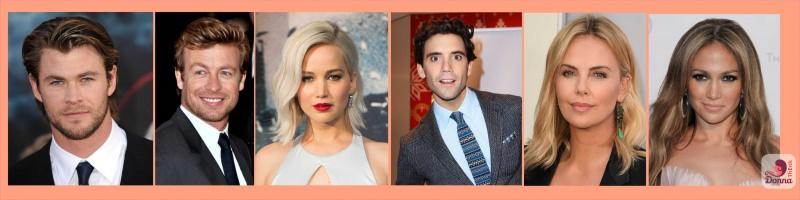 Oroscopo 2018 stelle star celebrità famosi nati sotto il segno del Leone Chris Hemsworth, Simon Baker, Jennifer Lawrence, Mika, Charlize Theron, Jennifer Lopez