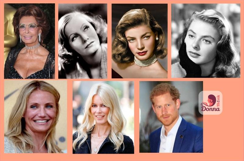 oroscopo 2018 star celebrità famosi nati sotto il segno della Vergine stelle attrici donne famose più affascinanti di sempre: Sophia Loren, Greta Garbo, Lauren Bacall, Ingrid Bergman, Cameron Diaz, Claudia Schiffer, il Principe Harry