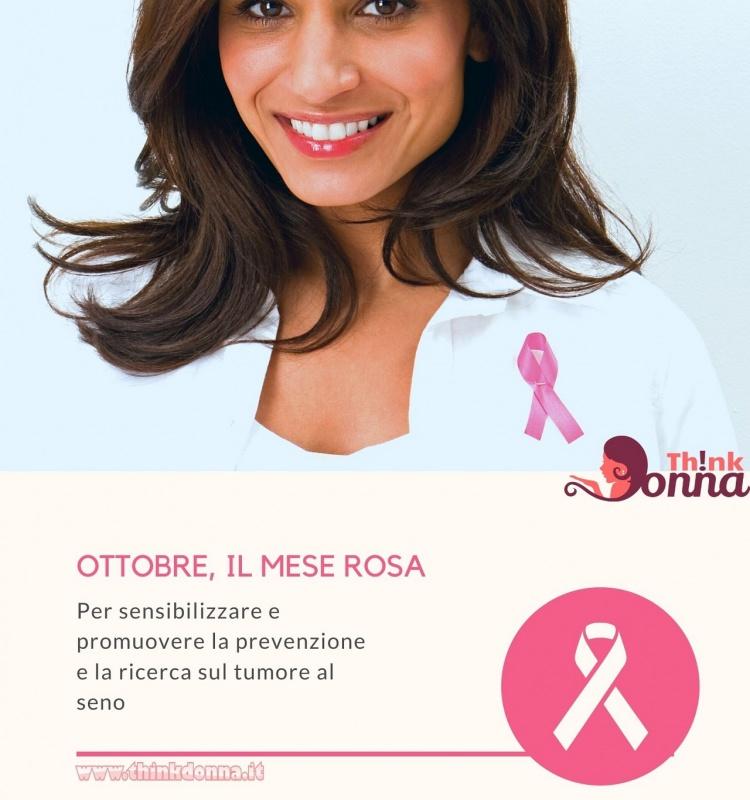 ottobre mese rosa prevenzione tumore seno