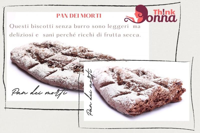 pan dei morti biscotti cacao zucchero a velo tradizione ricetta