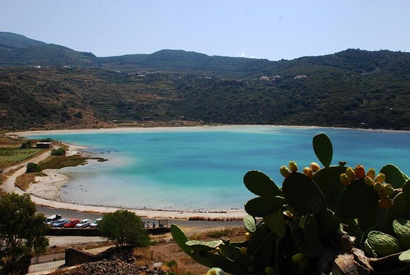 Pantelleria mare fico d'india spiaggia