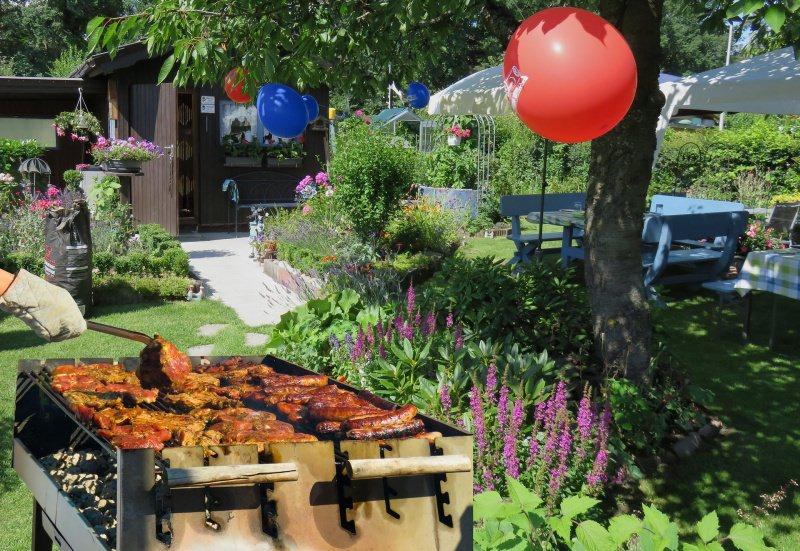 grigliata di ferragosto aperto giardino party festa barbecue