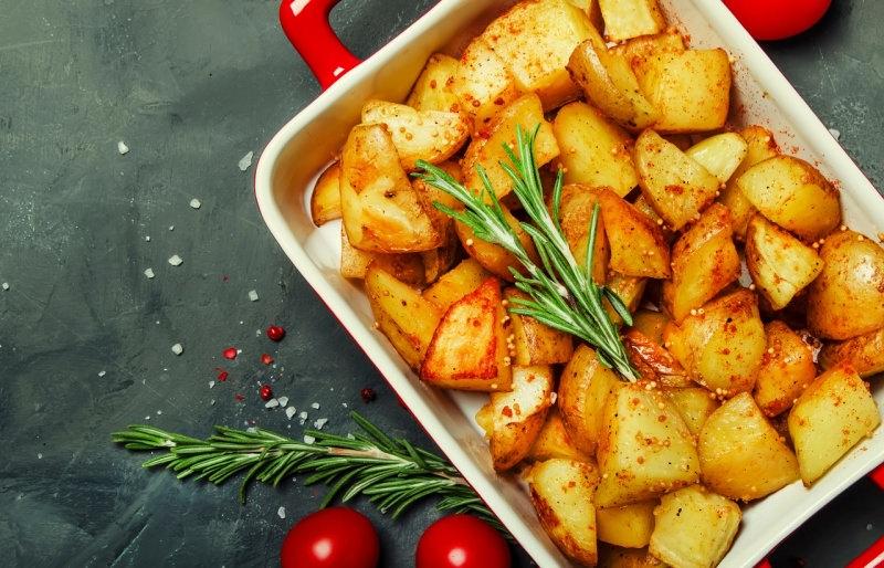 patate al forno con spezie