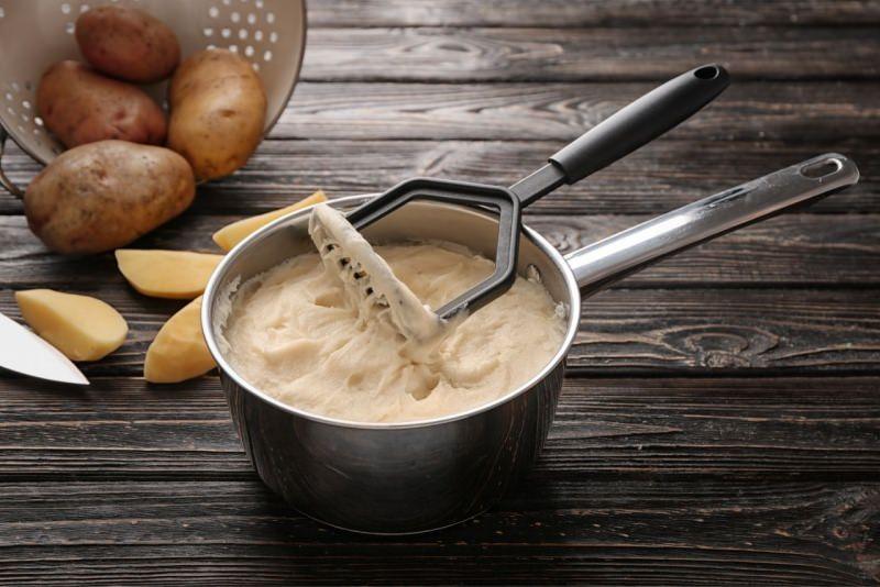 patate lesse schiacciapatate purè