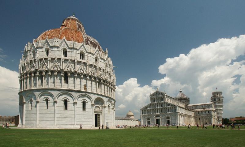 Trip tips   Un weekend d'autunno romantico in Toscana - Parte 2 Pisa Battistero