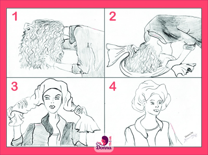 plopping disegno tecnica step by step tutorial