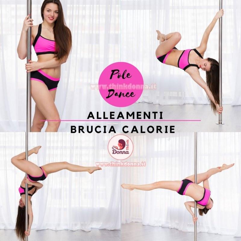 pole dance allenamenti brucia calorie ballerina ragazza donna palo