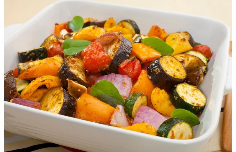 ratatouille contorno di verdure al forno