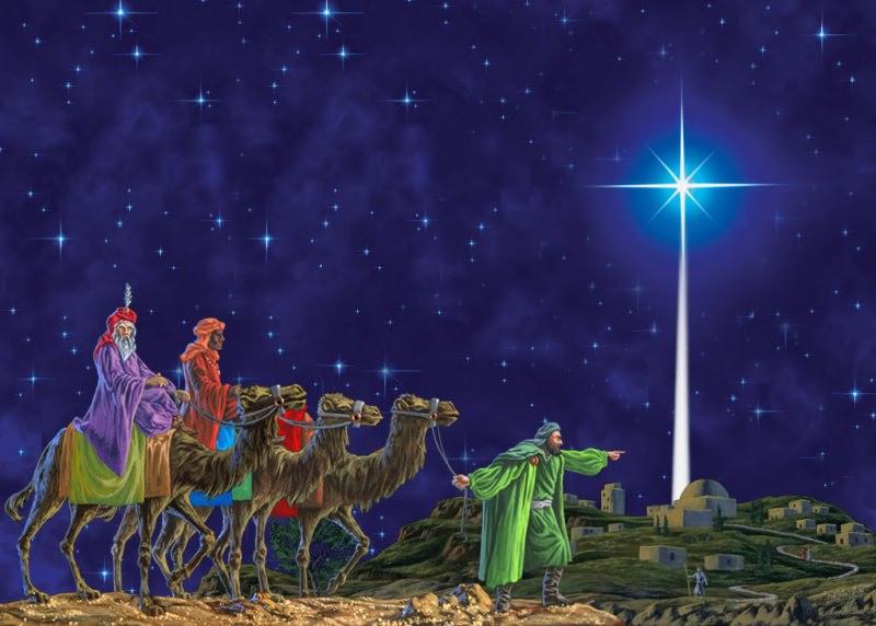 Dolce dell'Epifania, ricetta Galette des Rois   I Re Magi, leggenda e tradizione notte cielo stellato stella cometa cammelli betlemme