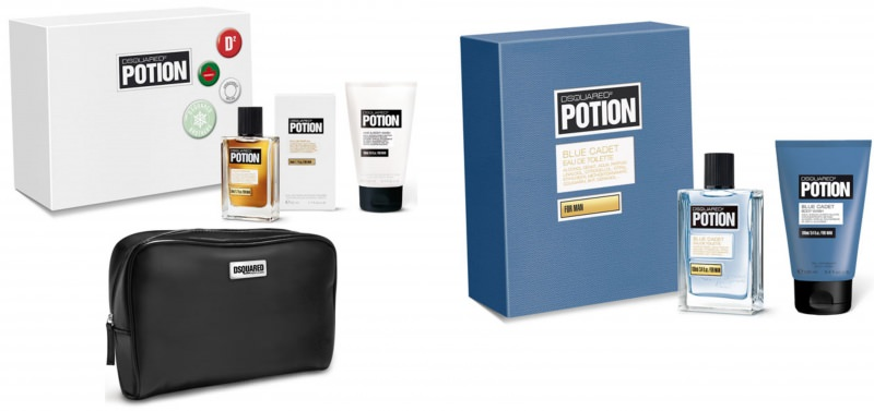 Dsquared2 potion for man merry christmas beauty pin set dsquared2 potion blue cadet profumo
