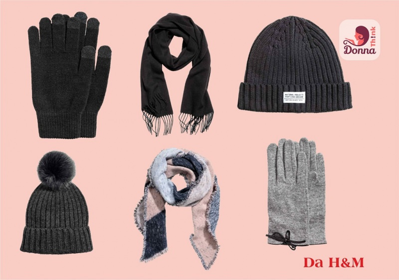 Cosa regalare per Natale a un ragazzo o ragazza? Idee regalo per adolescenti berretto lana guanti sciarpa uomo donna H&M