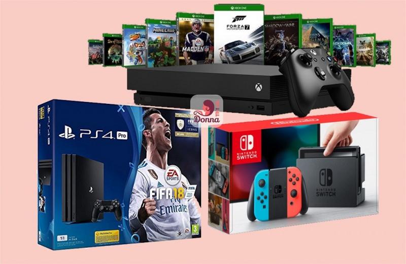 Cosa regalare per Natale a un ragazzo o ragazza? Idee regalo per adolescenti console sony ps4 microsoft xbox X nintendo switch videogiochi fifa18