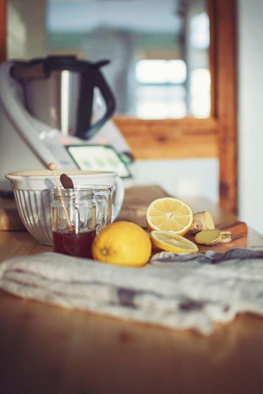 robot da cucina multifunzione limoni miele zenzero