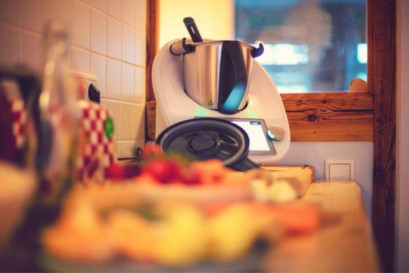 robot da cucina multifunzione cucinare