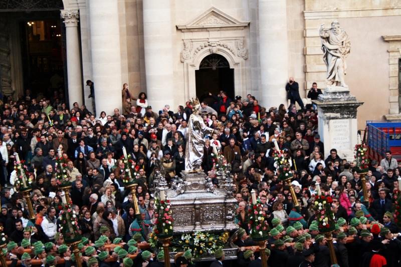 santa Lucia processione Siracusa
