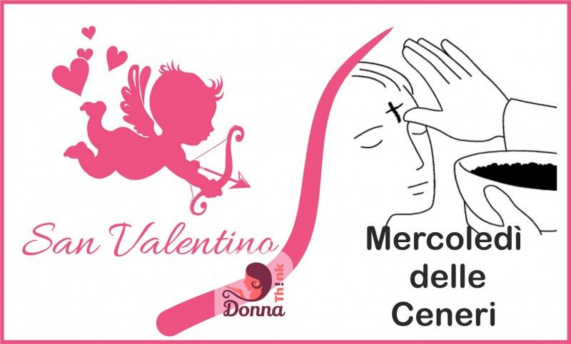 Cupido San Valentino e Mercoledì delle Ceneri: e se festeggiassimo il vero amore? rito dell'imposizione delle ceneri