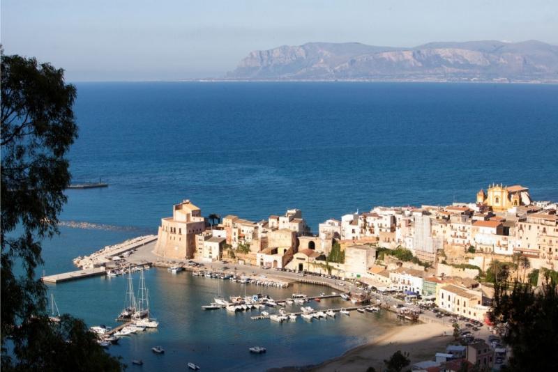 panorama San Vito lo Capo Sicilia mare