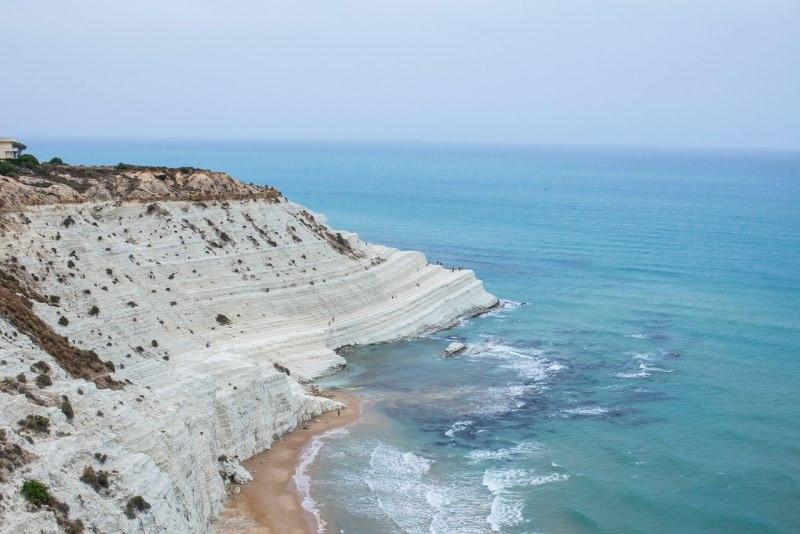 scala dei turchi mare