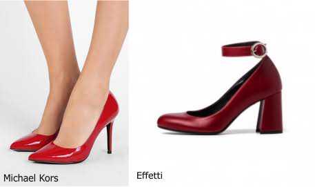 Moda donna cosa comprare per rinnovare il guardaroba autunno inverno scarpe decollete Michael Kors rosso vernice PittaRosso