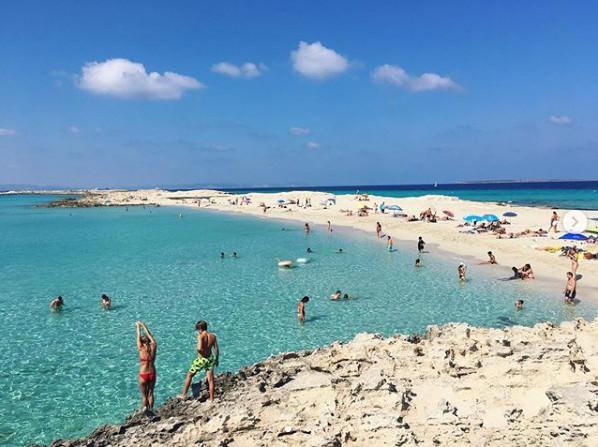 ses illetes spiaggia formentea mare