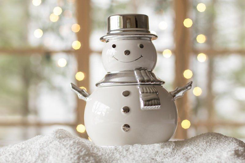 pupazzo di neve decorazione natalizia natale