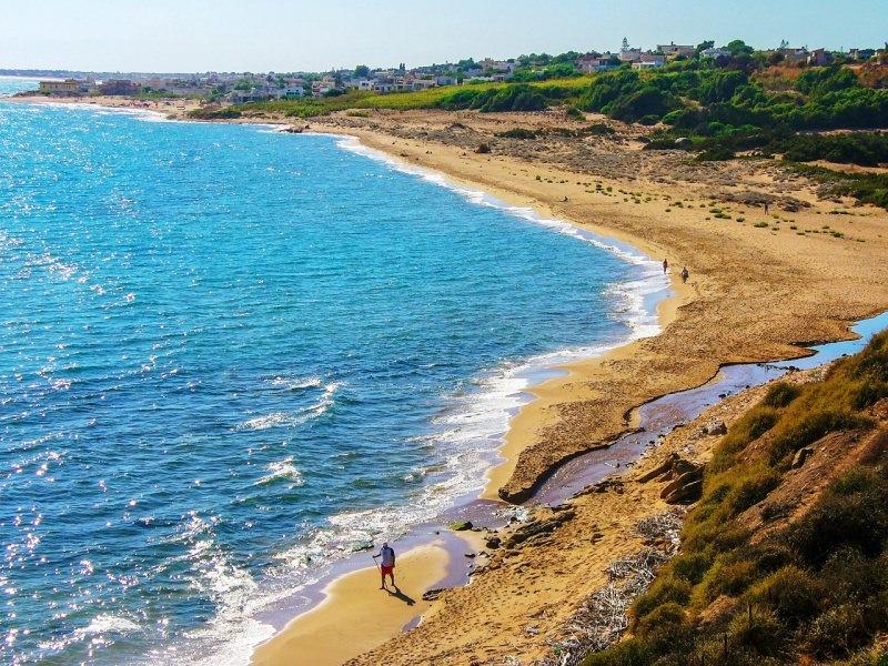 spiaggia di Selinunte mare