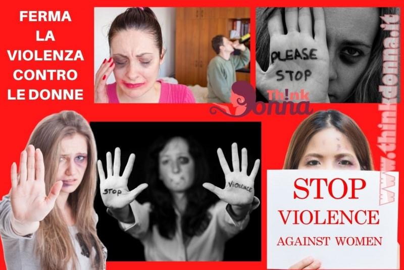 ferma la violenza contro le donne stop violence 25 novembre