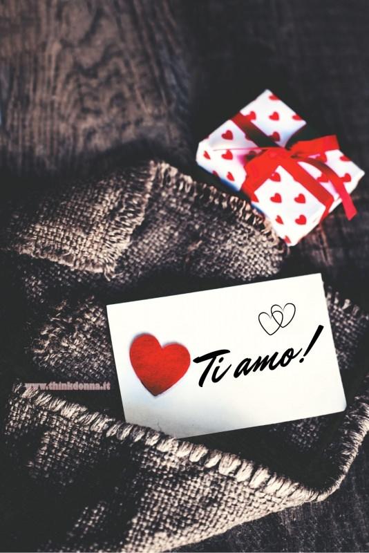 biglietto ti amo cuore san valentino tasca jeans pacchetto regalo
